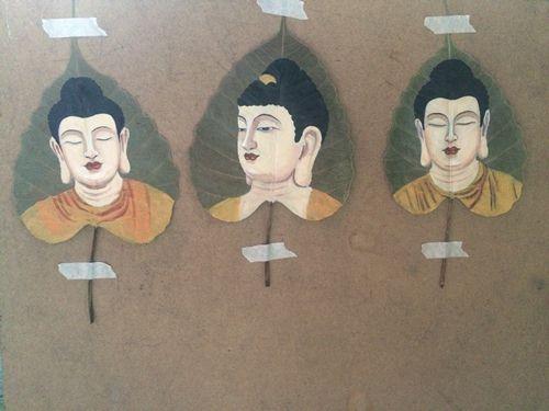 tranh vẽ về Phật Giáo