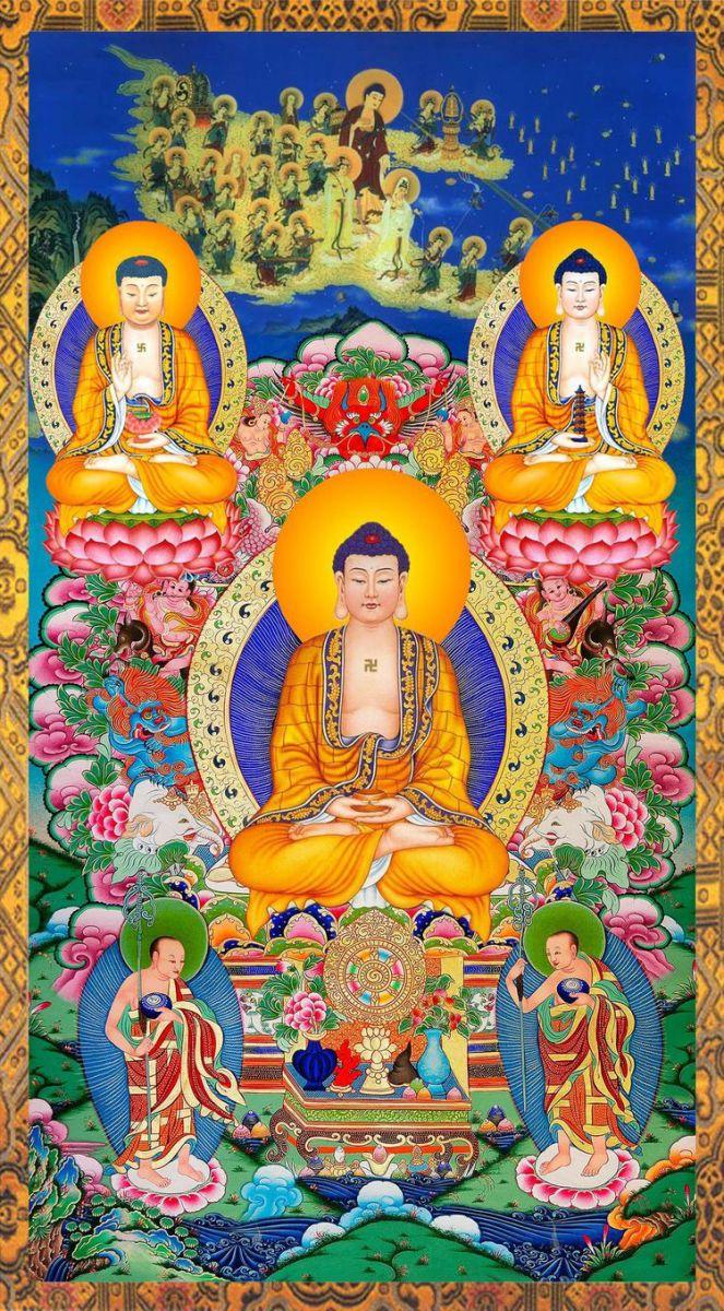 tranh tường Phật Giáo Bình Dương
