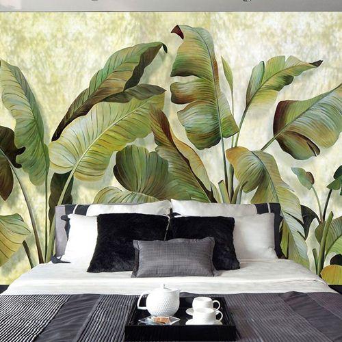 vẽ tranh tường phòng ngủ đơn giản