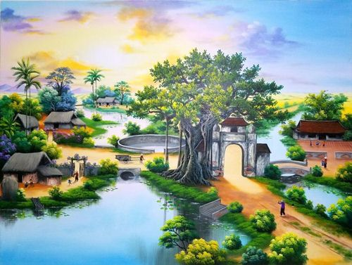vẽ tranh nghệ thuật trên tường