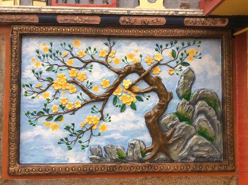 tranh phong cảnh Phật Giáo