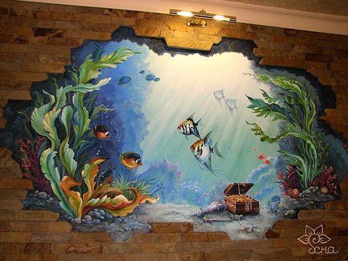 vẽ tranh tường phong thủy Đà Lạt