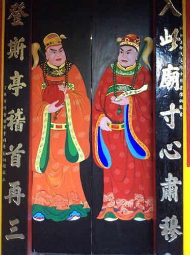 tranh tường Phật Giáo Đà Lạt