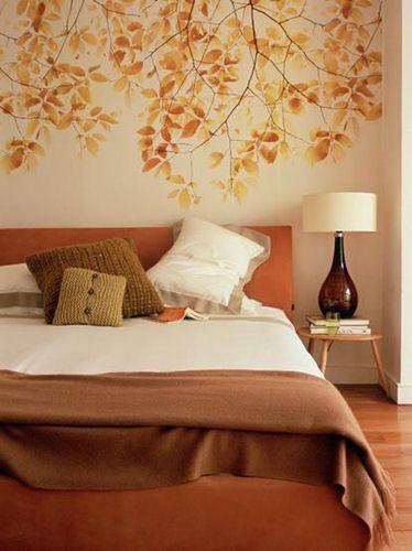 tranh vẽ tường phòng ngủ